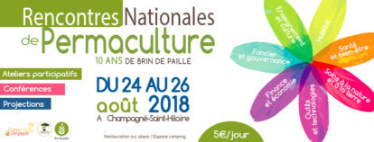 Rencontre Nationale de la permaculture 2018