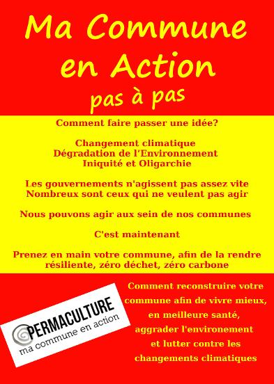 MA COMMUNE EN ACTION … Le guide